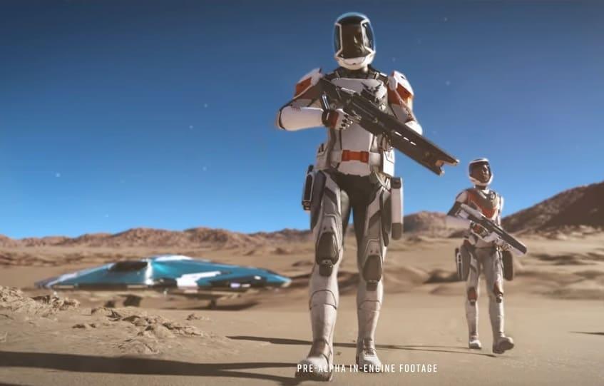Frontier presenta Odyssey, la nueva gran expansión de Elite Dangerous