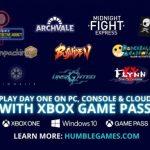 Algunos títulos de Humble Games llegaran a Game Pass de lanzamiento